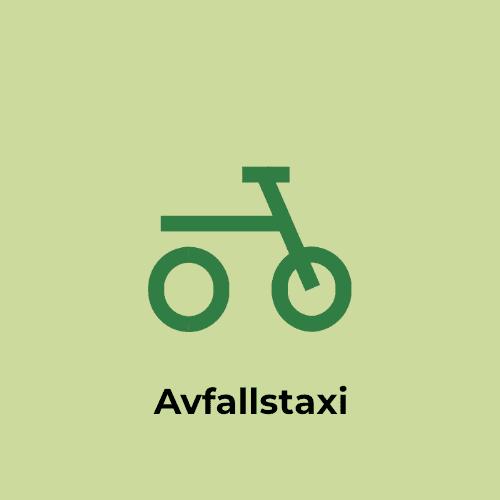 Taxi à déchets pour les ménages (pas pour les loisirs)