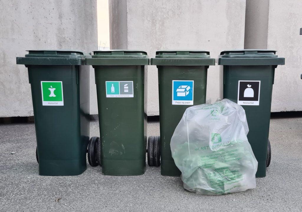 Новые правила утилизации отходов для муниципалитета Оппдал