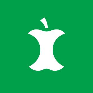 Avfallssymbol for matavfall